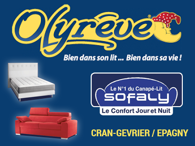 Olyreve literie, matelas, convertible à Annecy